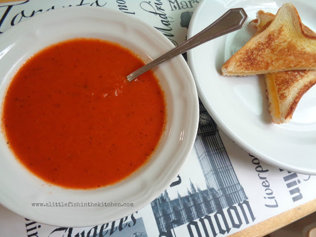 Easy Fire-Roasted Tomato Soup