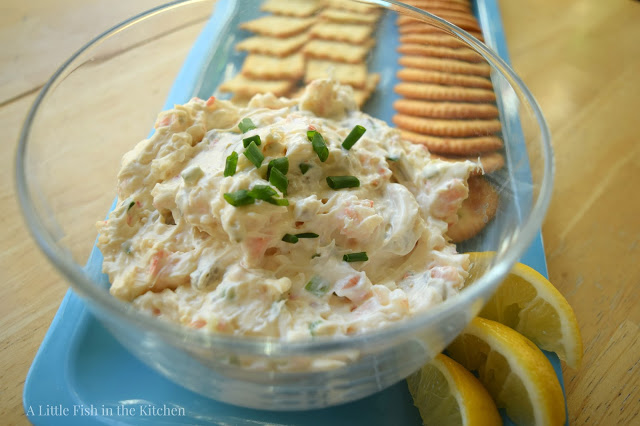 Shrimp and Olive Spread