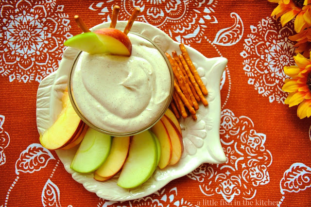 Spiced Brown Sugar Apple Dip