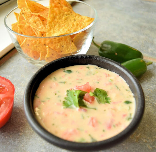 Spicy Queso Blanco (White Cheese) Dip