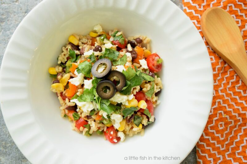 Southwestern Brown Rice Salad