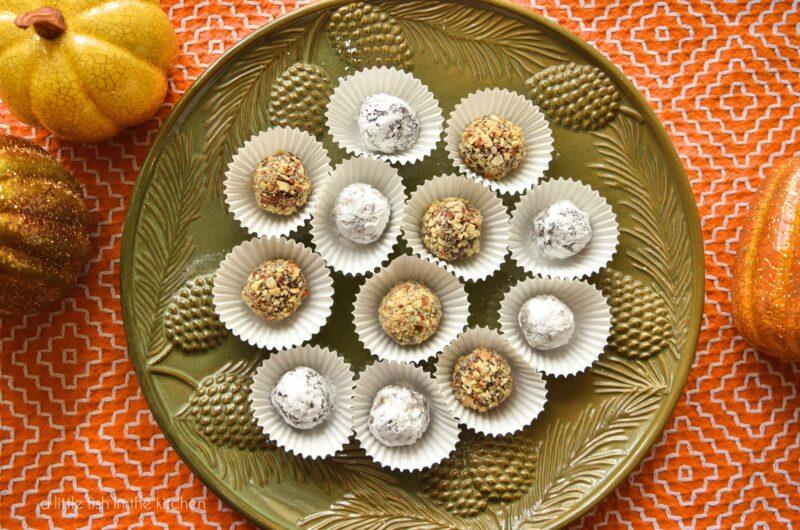 Chocolate Orange Truffles #Choctoberfest