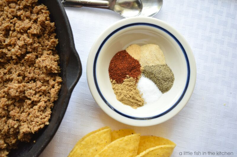 Homemade Tex-Mex Taco Seasoning