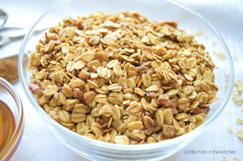 Simple Honey-Cinnamon Granola