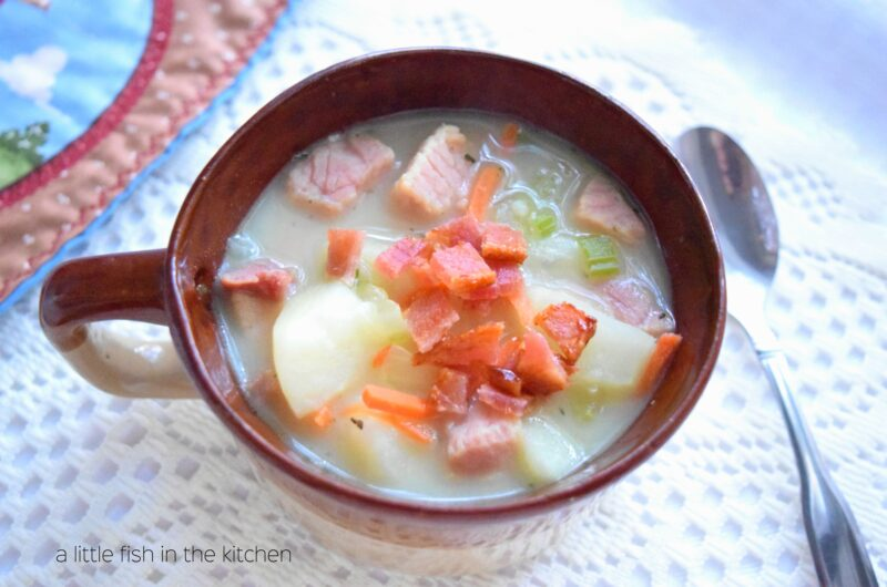 Old-Fashioned Ham and Potato Chowder