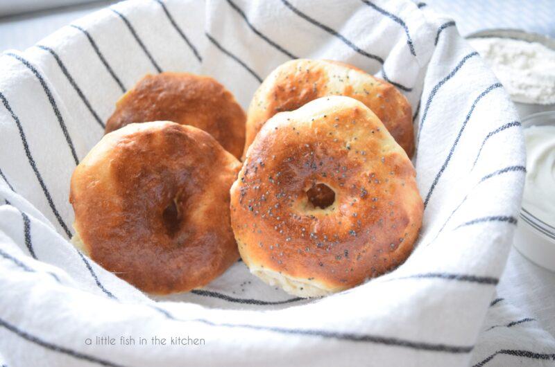Easy Two-Ingredient Bagels